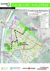 Plan de la balade urbaine